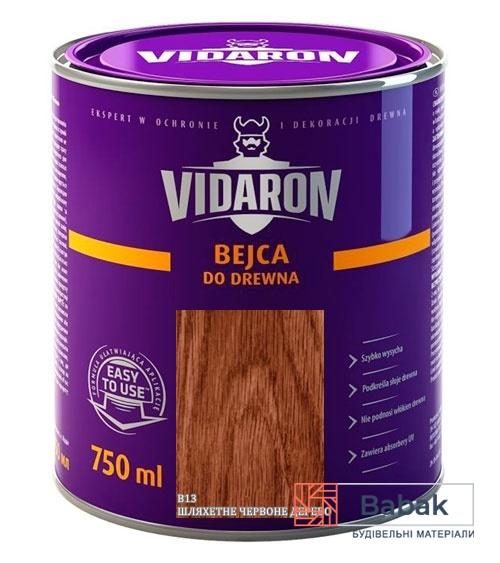 VIDARON Бейц шляхетне червоне дерево B13
