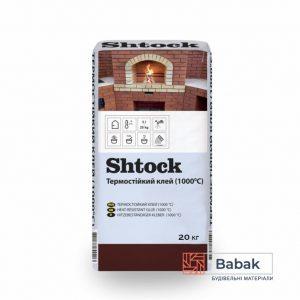Термостійкий клей (1000 °C) Shtock 20 кг