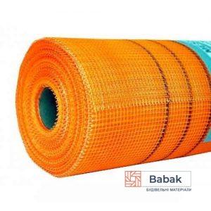 Сітка фасадна оранжева 160 5*5 (50м.кв)