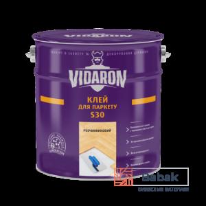 Клей для паркету VIDARON S30 – розчинниковий 20 кг