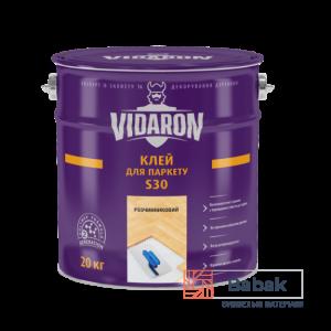 Клей для паркету VIDARON S30 – розчинниковий 7кг