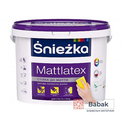 Фарба Mattlatex Sniezka 10л / 14кг