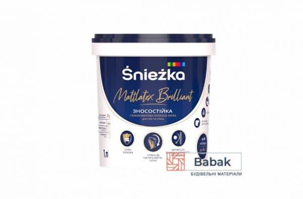 Фарба Mattlatex Brilliant 1 л / 1,37 кг