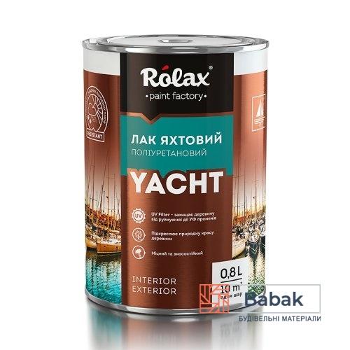 """Лак яхтовий поліуретановий """"YACHT"""" напівматовий 800 мл"""